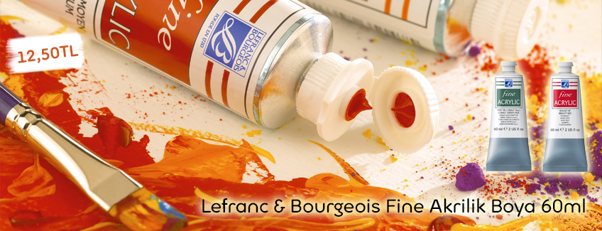 Lefranc & Bourgeois Fine Akrilik Boya 60ml