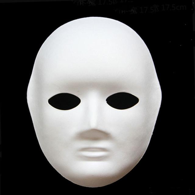 Karton Yuz Maskesi Kucuk 17x22cm Hobi24