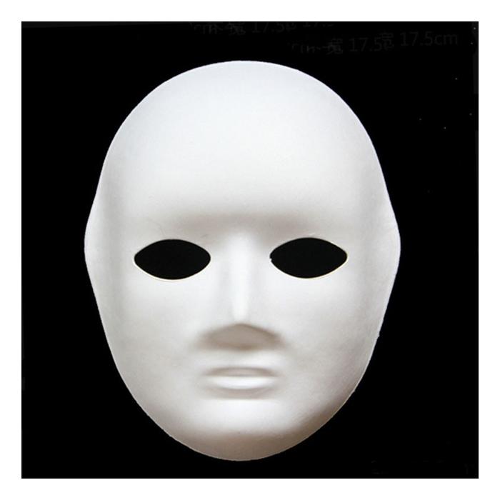 Karton Yuz Mask Buyuk 19x24cm Hobi24
