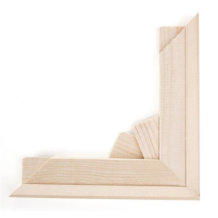 2 Adet Tuval Kasnağı Şasesi (3cm) - 60cm | hobi24