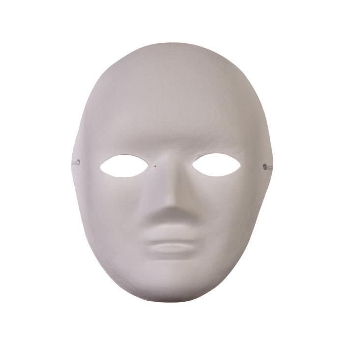 Karton Insan Maskesi 17x22cm Hobi24