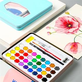 Rengarenk Suluboya Malzemeleri Fiyatlari Ve Cesitleri Hobi24